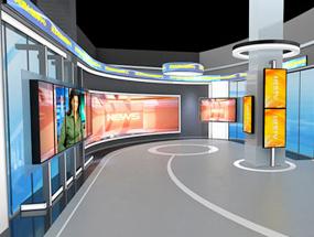虚拟演播室出租